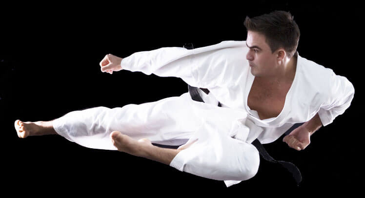 Karate master in Cleveland Ohio